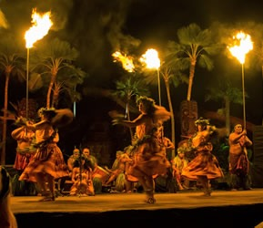 Chief's Luau Hula Dancers Best Luau in Hawaii